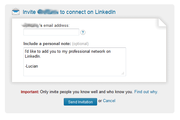The hidden rules of LinkedIn - Disappointing