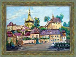 Sighisoara's Plaza
